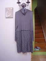 Robe effet 2 en 1 tunique col roulé + jupe T 46 48 Blancheporte TBE 1