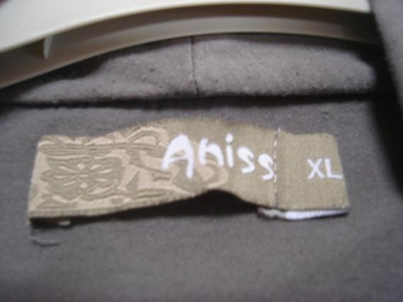 Tunique manches longues effet 2 en 1 tunique gilet gris Aniss T XL = 46 48 TBE 4