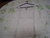 Lot 2 tee-shirts manches courtes unis Riu T 4 = 44 46 beige et grège TBE 3