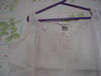 Lot 2 tee-shirts manches courtes unis Riu T 4 = 44 46 beige et grège TBE 5