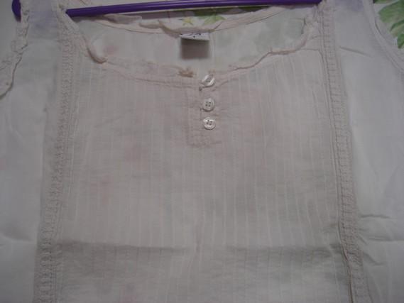 Lot 2 tee-shirts manches courtes unis Riu T 4 = 44 46 beige et grège TBE 4