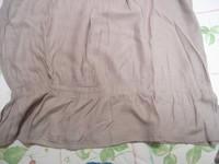 Lot 2 tee-shirts manches courtes unis Riu T 4 = 44 46 beige et grège TBE 10
