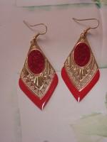 Lot 13 paires de grandes boucles d'oreilles pour oreilles percées neuves ou TBE 11