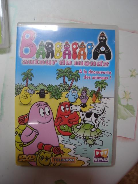 Lot 2 DVD Barbapapa autour du monde A la découverte des animaux & Amis de tous les pays TBE 2