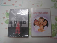 Lot 2 DVD concerts De palmas et Destiny child TBE ou neuf 1