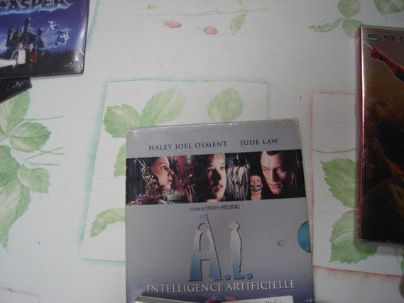 Lot 7 DVD films et Casper Spiderman AI Lucy TBE ou neufs 5