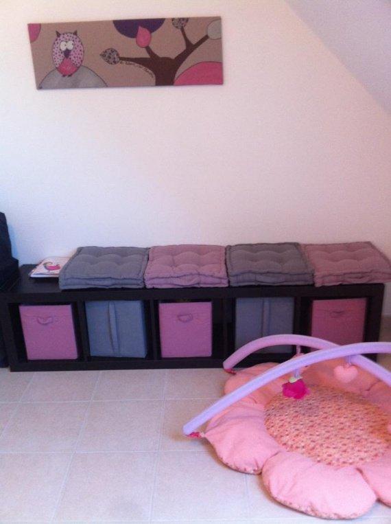 coin jeux et allaitement chambre de b b dodolinette photos club doctissimo. Black Bedroom Furniture Sets. Home Design Ideas