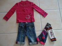 tee shirt cati ethnique kid 3Ans collants 23 24 jean shinny 2ans