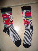 catimini chaussettes denim layette hiver 2012/2013 25/26 tbe : 5 euros