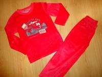 pyjama velours 8ans etat neuf porté 1 fois : 7 euros