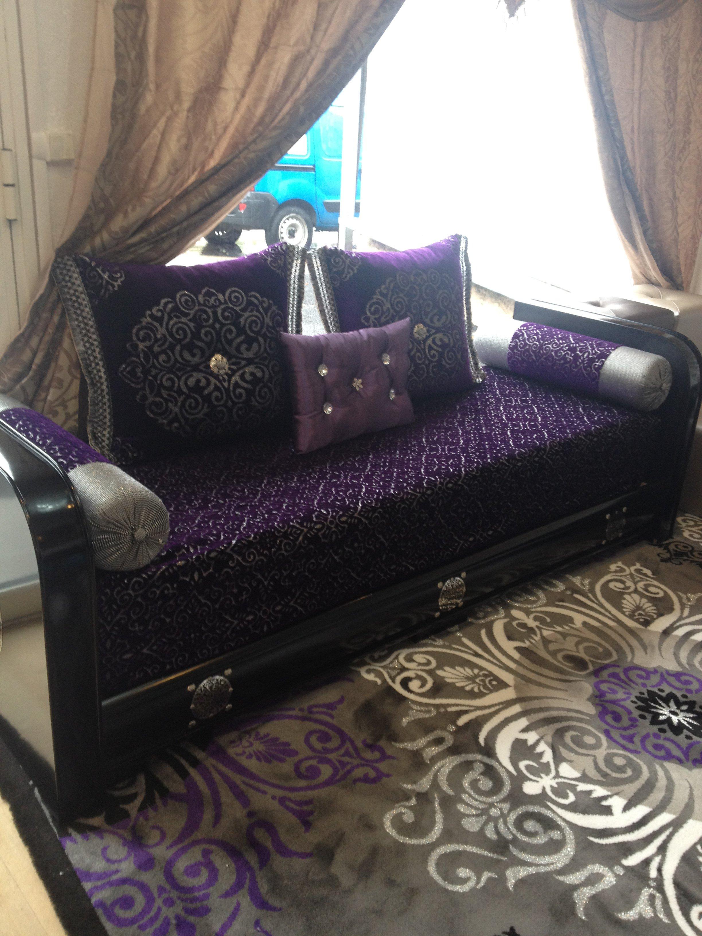 Salon marocain style sahraoui \