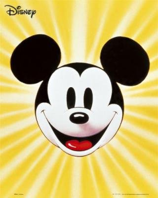 Mini-Posters-Mickey-Mouse---face-71127