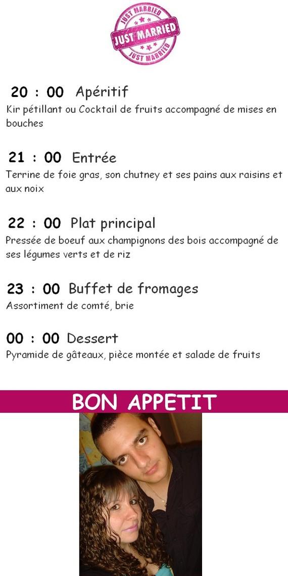 protoype menu avec photo 3