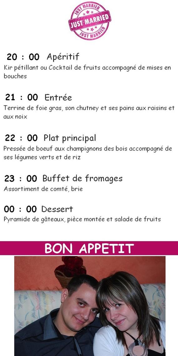 protoype menu avec photo 1