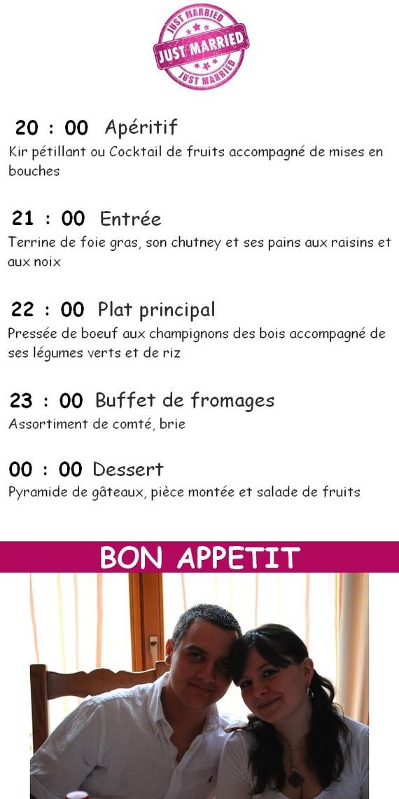 protoype menu avec photo 2