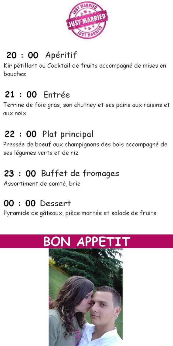 protoype menu avec photo 4