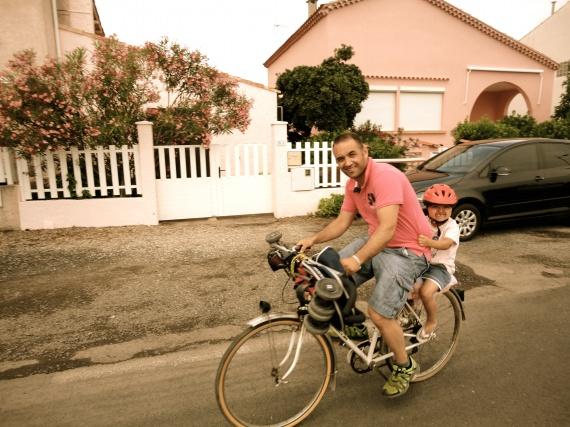 le nouveau vélo de papa lol !!!