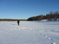 Rivière gelée - Laponie finlandaise