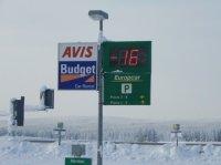 -16° au plus chaud !