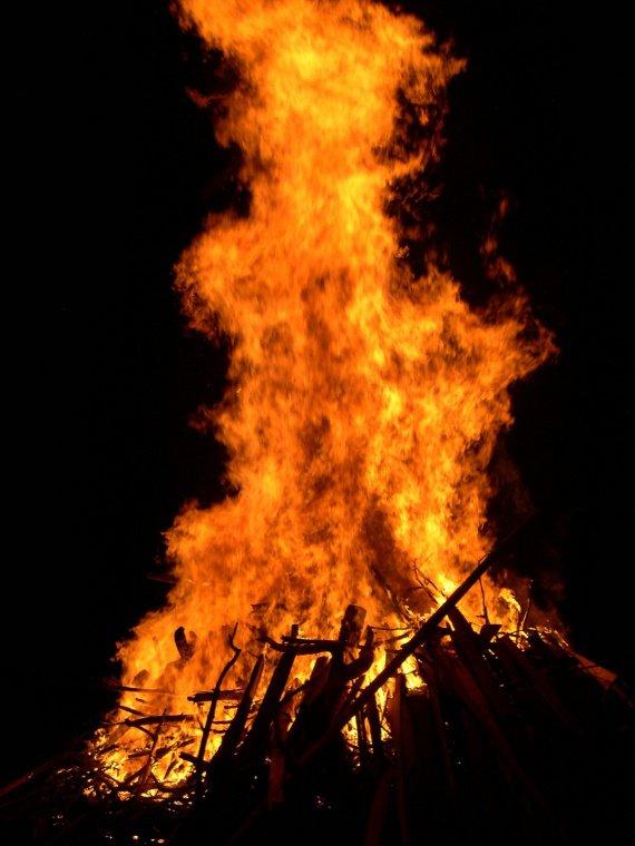 feu chaleur