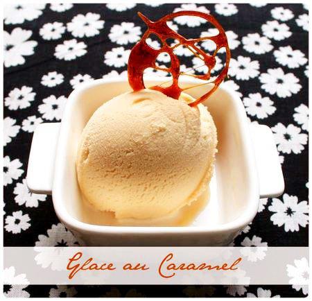 glace caramel