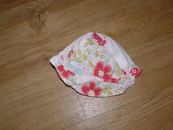2€ => 1€ - chapeau à fleur - absoba - 12 mois