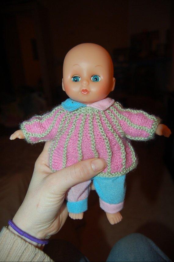 2011 02 19 (2) tricot sur modèle 20cm