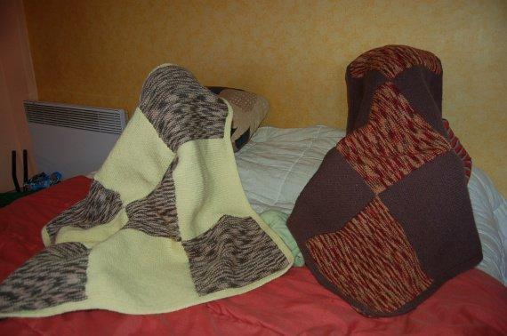 2011 09 08 (1) deux couvertures pour la voiture