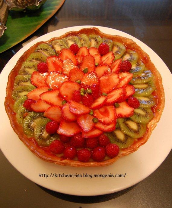 tarte au fraise maison scene copie