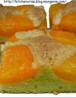 tarte abricot carrés copie