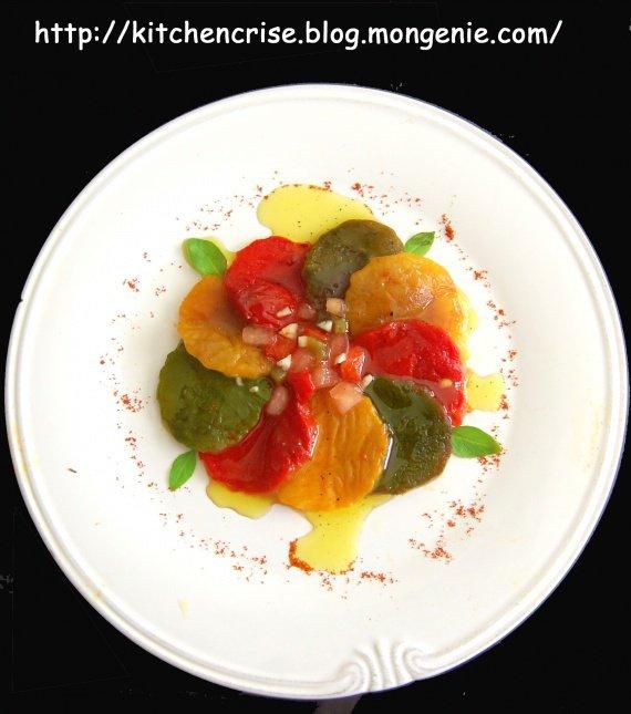 salade poivron rosace huile copie