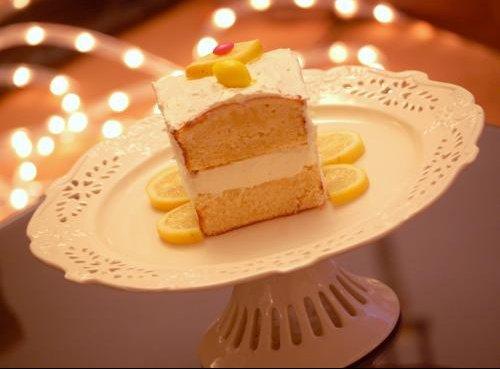 presatation cake citron