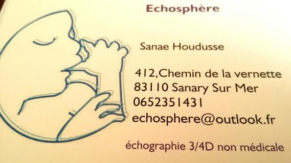 carte visite echosphere