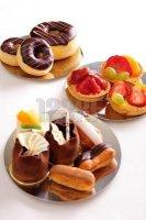 gâteaux variés
