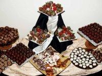 buffet fruits déguisés chocolat