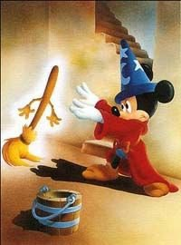 ménage mickey balai fantasia