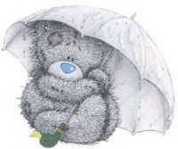 nounours parapluie