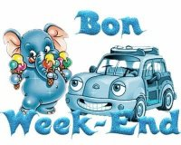 bon week end voiture éléphant