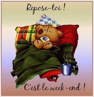 week end repos nounours