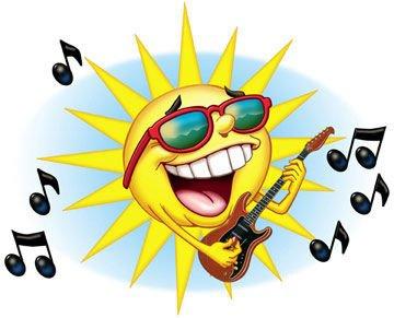 soleil rockeur