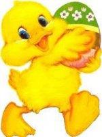 poussin canard offre oeuf pâques