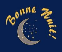 bonne nuit lune étoiles