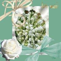 muguet bouquet romantique