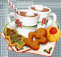 goûter tasses choc biscuits