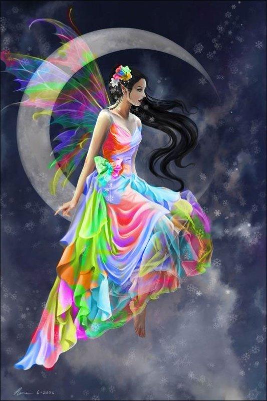 robe arc en ciel