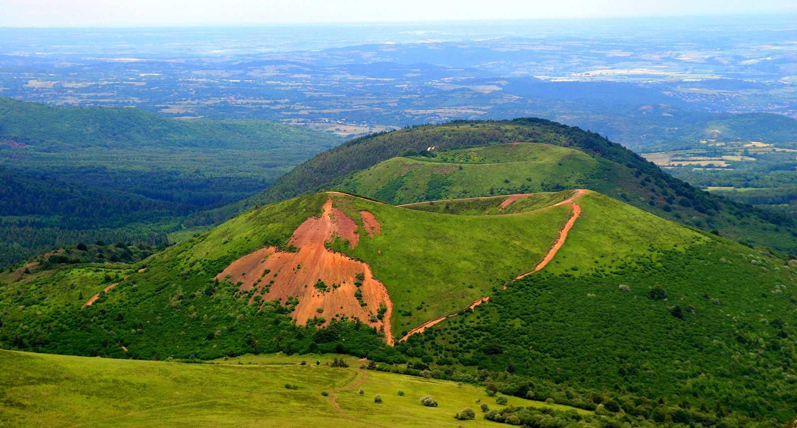 Вулкан Puy de Pariou