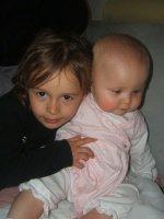 tjs alyce  qui adore les bébé et camille