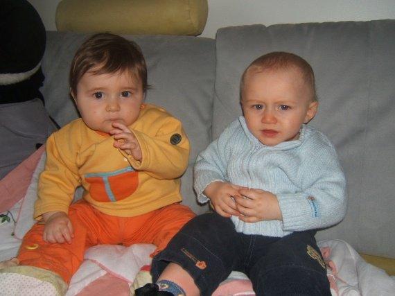 alexys et son jumeau de date orphé