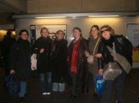 nous voila repartie dans le metro !!