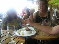 photo prise trop tard du somptueux dessert !!